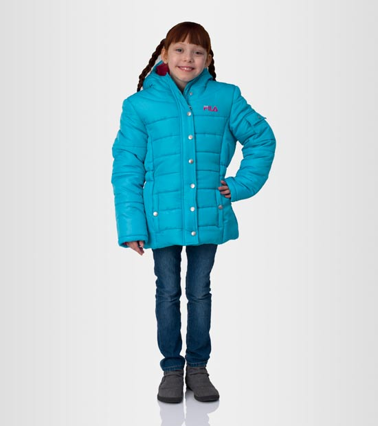 Fila Girls Heavyweight Puffer Jackets